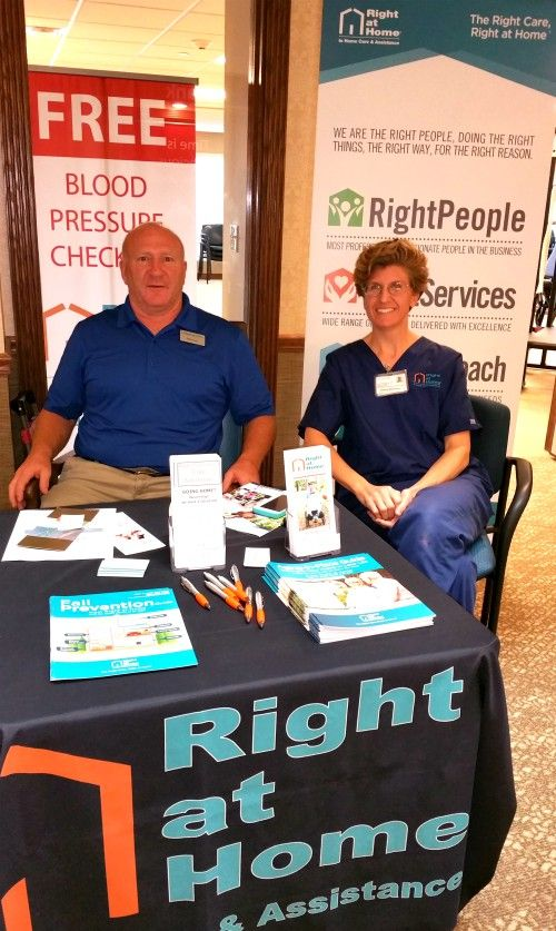 Health Fair at Resort Lifestyle Community Copper Springs in Gilbert, Arizona