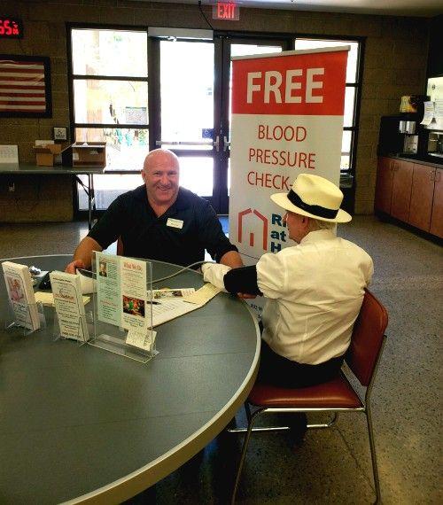 Gilbert Senior Center Blood Pressure Check