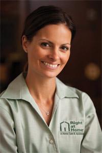 Smiling Caregiver