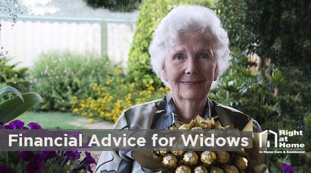 finalcial advice for widows