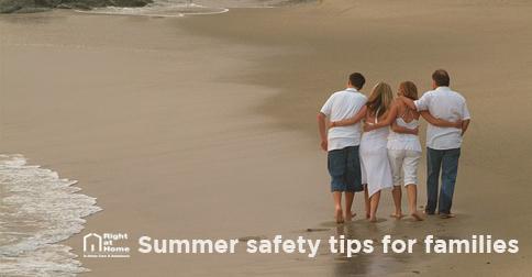Summer Family Fun on Beach
