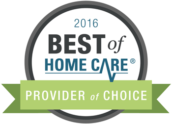 2016 Best of Home Care Provider of Choice