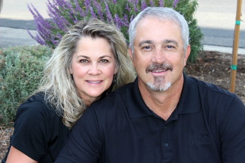 Tami and Lance Brangham, owners of Right at Home Fresno