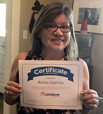 Caregiver Anna