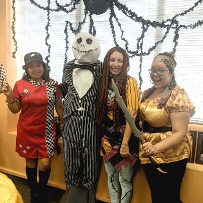 Halloween fun at Right at Home Glendale