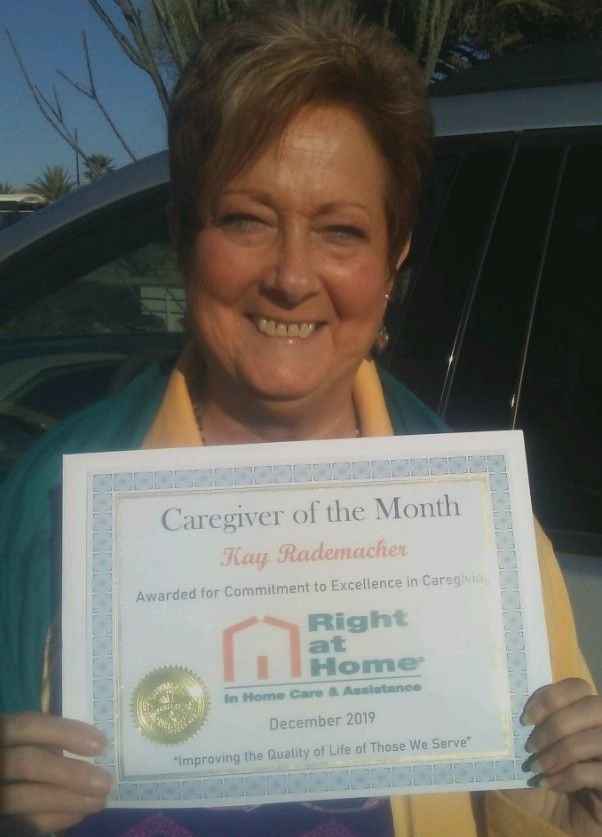 Kay R Caregiver of the Month