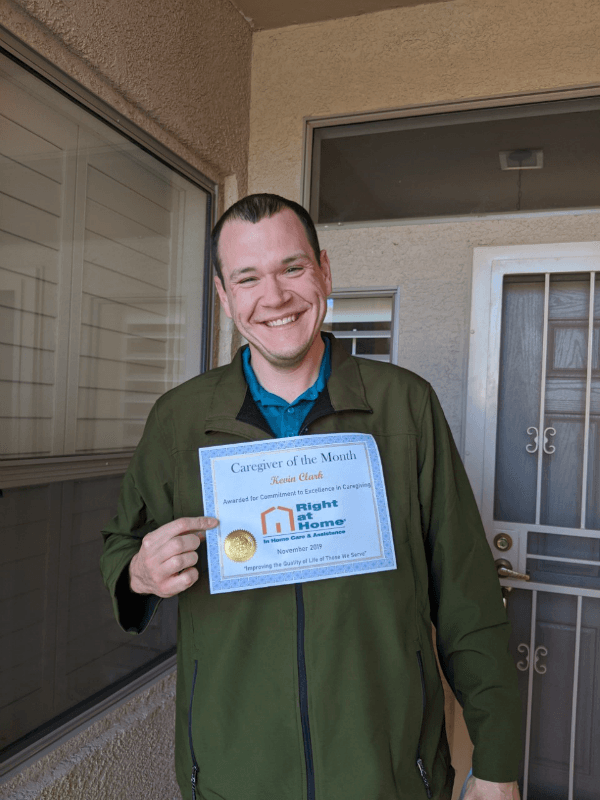 Kevin Clark - Caregiver of the Month