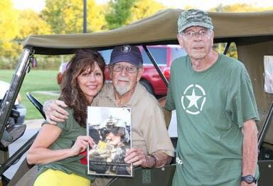 Guests at the Farragut TN American Hero Celebration for Veteran's Care Packages