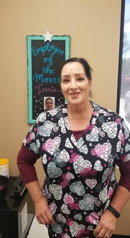 Caregiver of the Month - Terrie Nino