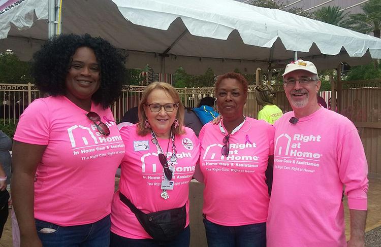 Breast Cancer Walk Survivor Tent