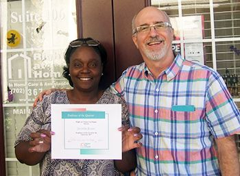 Caregiver Appreciation Jurietta Jones