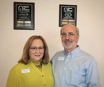 Louise Unell and Steve Gleicher