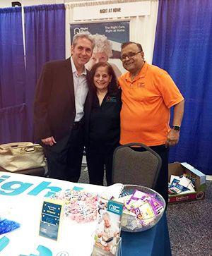 Dave & Kamlesh with Mayor of Pasadena, Jeff Wagner