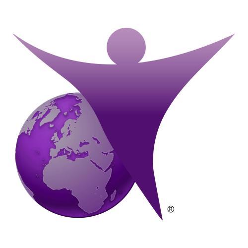 Dementia Friendly Purple Angel