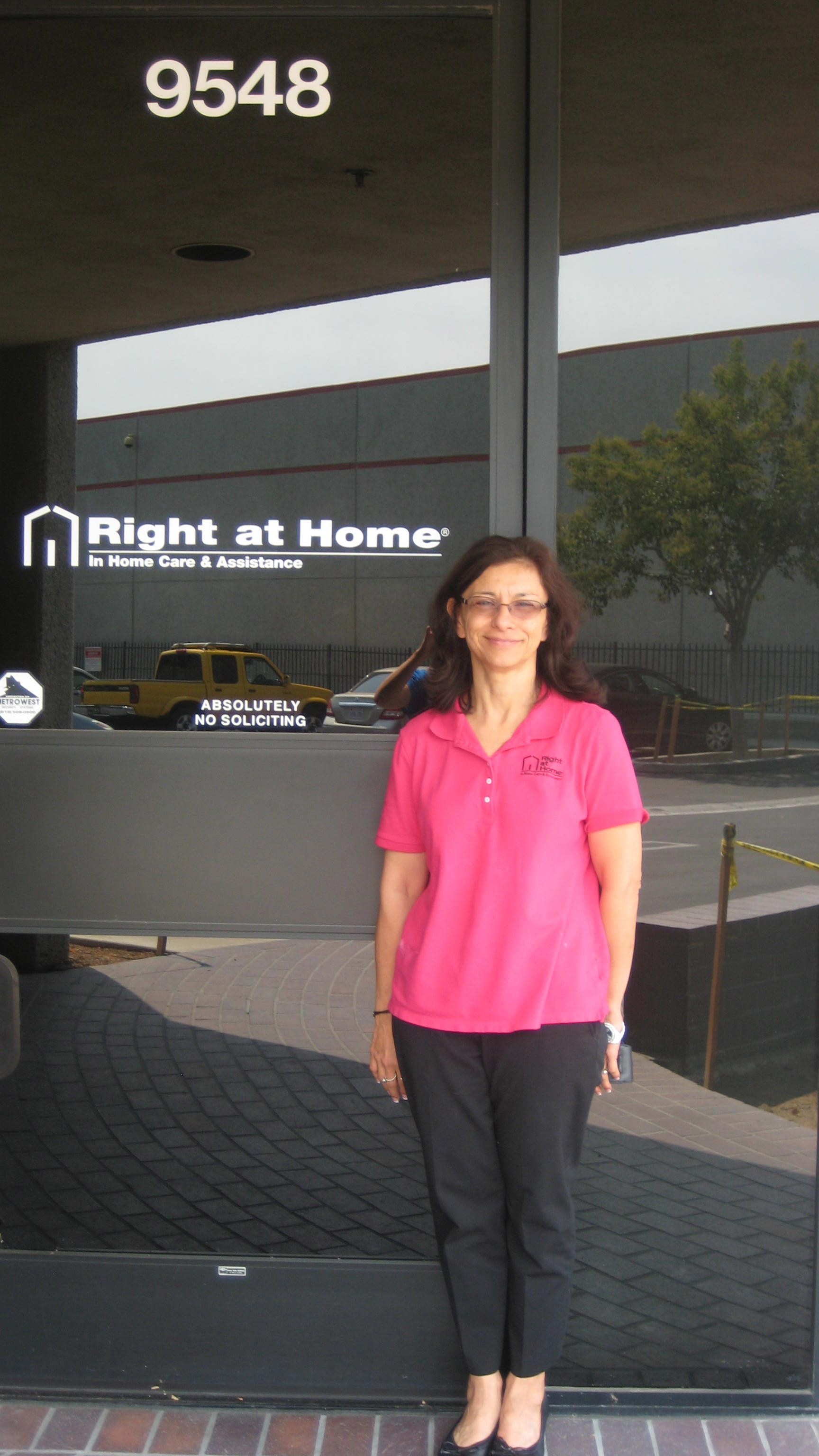 Lourdes Simons, owner of Right at Home San Fernando Valley
