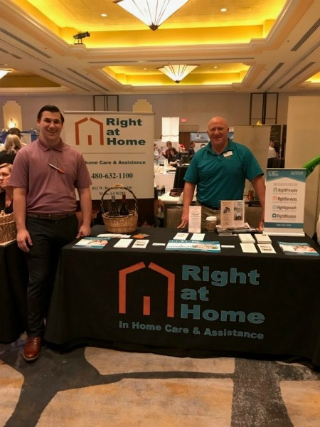 Right at Home Northwest Phoenix attended the Case Management Society of America Arizona Chapter in Scottsdale