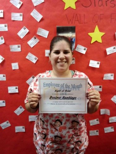 Desiree S. - April Caregiver of the Month