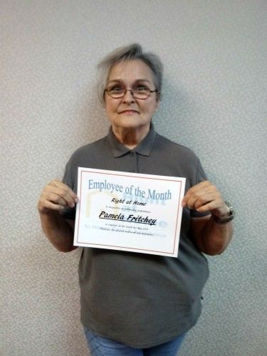 May Caregiver of the Month Pamela F