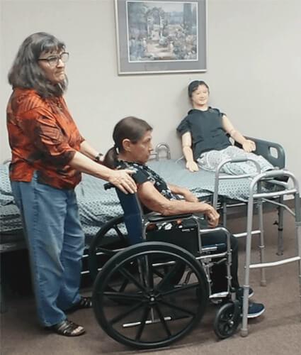March Caregiver training