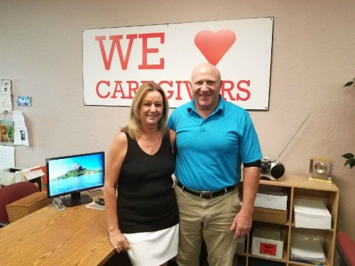 Mark and Becky Leuer - Owners of Right at Home