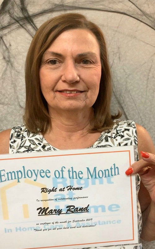 Mary Rand Employee of the Month for September