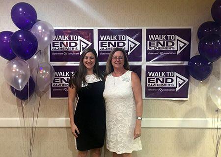 Walk to end Alzheimer's at Thunderbird Senior Living in Phoenix