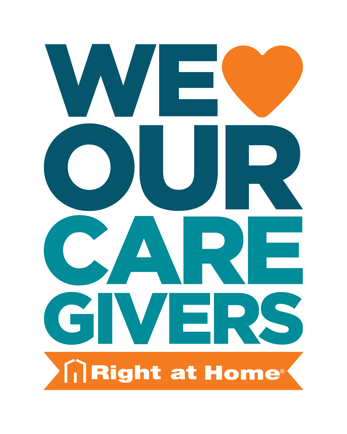 We Love Our Caregivers logo