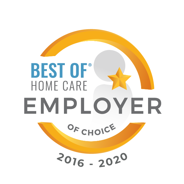 Best of Home Care Employer of Choice logo