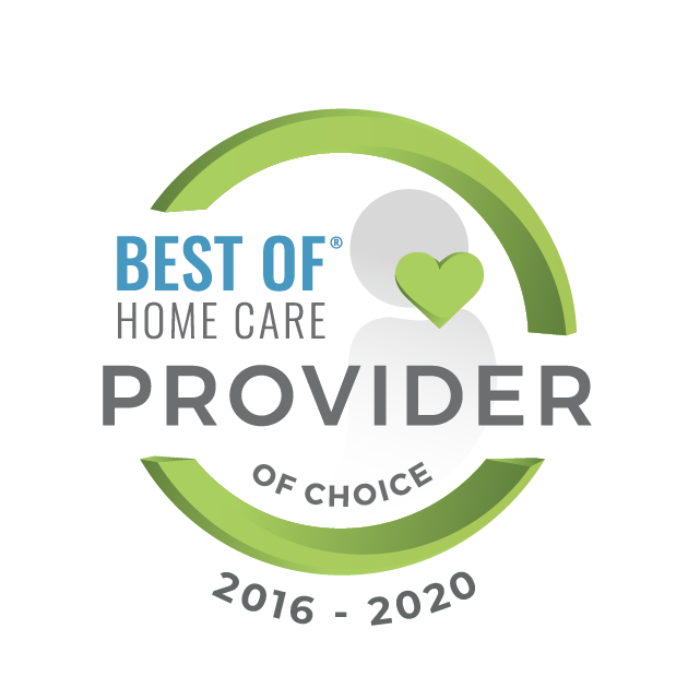 Best of Home Care Provider of Choice Logo