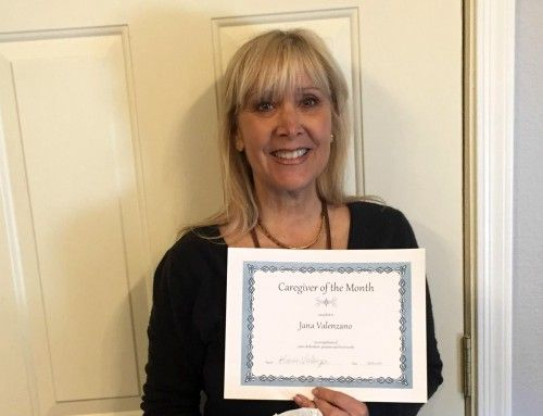 Jana Caregiver of the Month May 2018