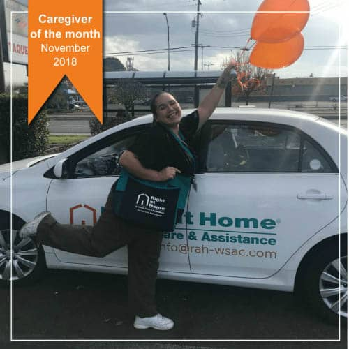 Trenna Morningstar - November Caregiver of the Month