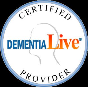 Dementia Live Certified Provider Logo
