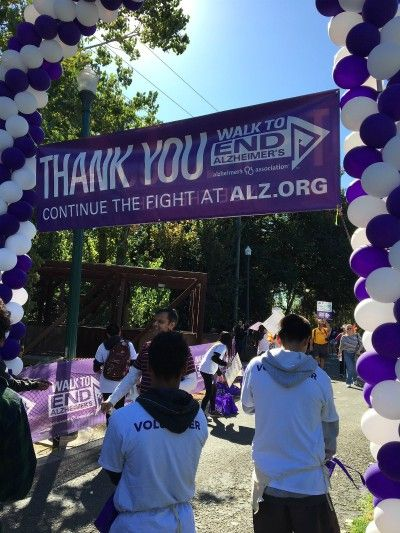 Right at Home San Jose owner Carol Gonzalez-Sheak at Alzheimer's Walk