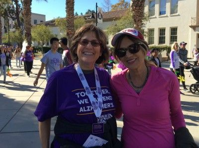 Right at Home San Jose owner Carol Gonzalez-Sheak at Alzheimer's Walk San Jose