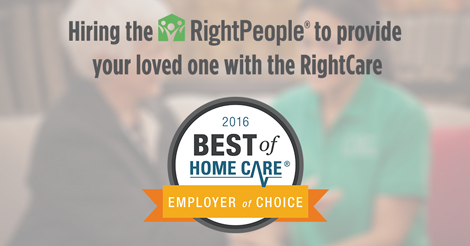 Home Care Employer of Choice Award