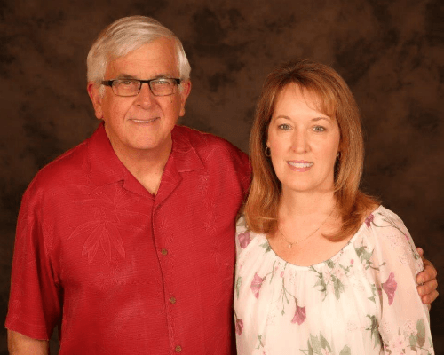 Gale and Venetia Davis - Right at Home owners