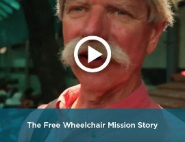 Free Wheelchair Mission video on their story