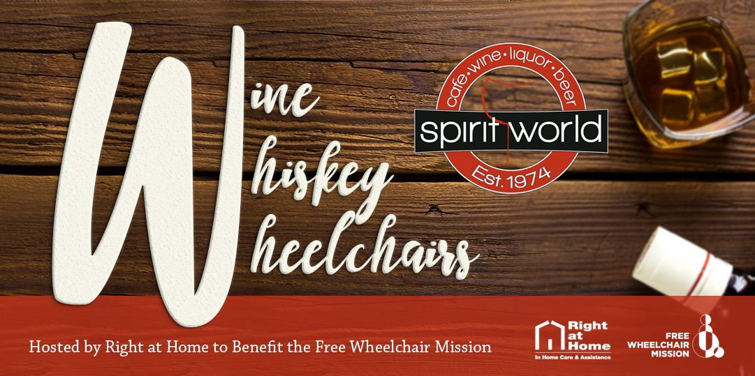 Wine Whiskey Wheelchairs