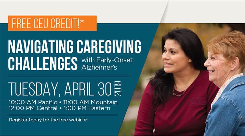 Webinar: Navigating Caregiving Challenges