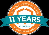 11 year badge