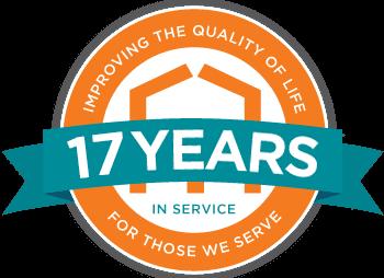 17 year badge