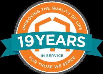 19 year badge