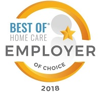 2018 Employer of Choice Award from Home Care Pulse